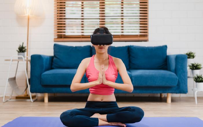 Meditation with VR