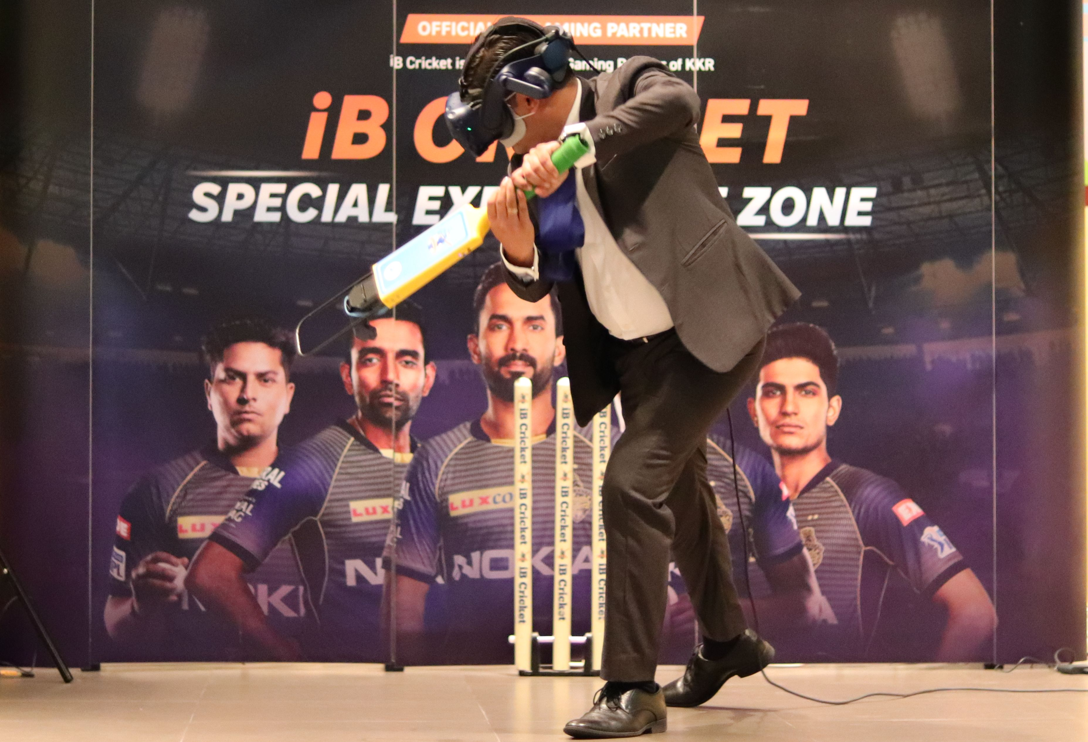 KKR-iB Cricket Fan Tour!