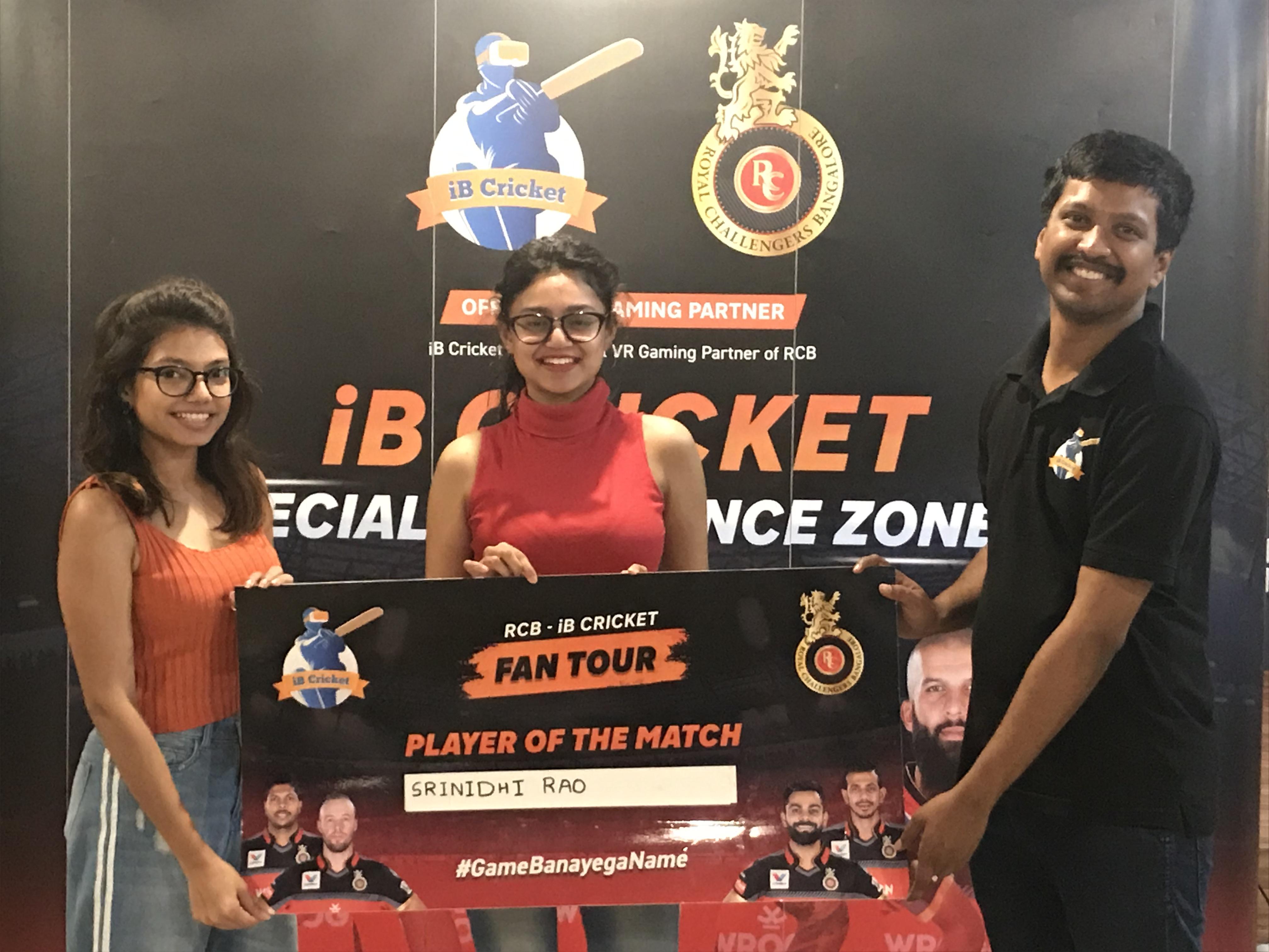 RCB-iB Cricket Fan Tour!