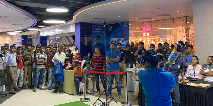 iB Cricket with Mobitel in Srilanka