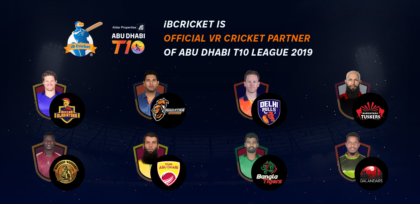 Play with T10 League stars in iB Cricket