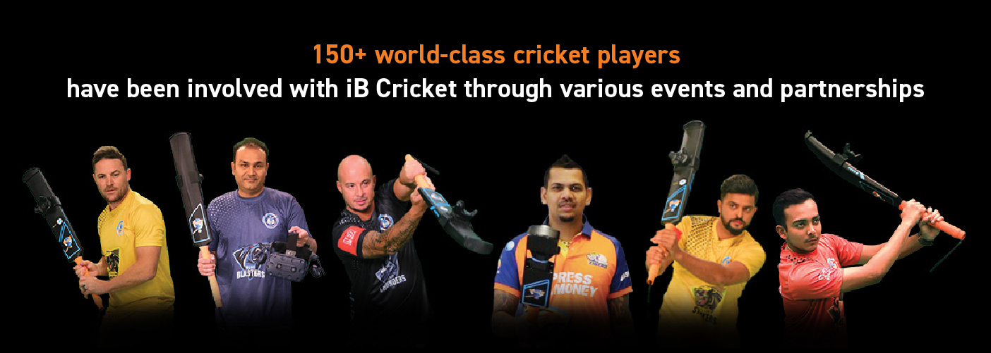 150+ world-class cricketers with iB Cricket