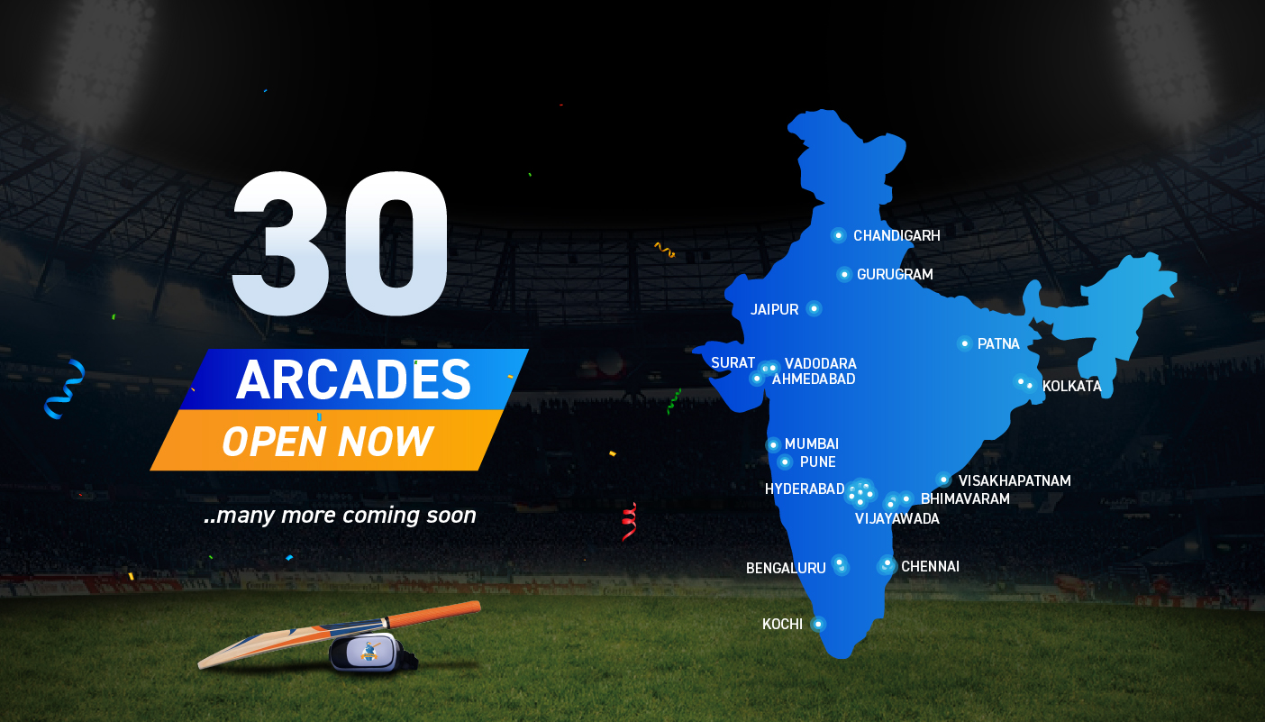 iB Cricket 30 arcades across India